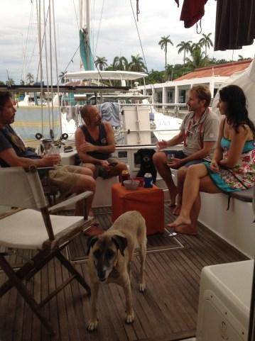 Fun with Scott, Evan & Lambrini