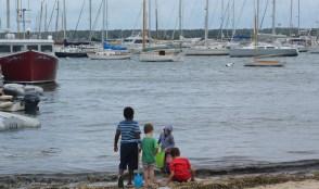 Kids in Vineyard Haven