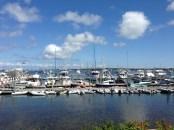 Block Island dinghy dock