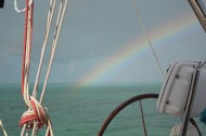 Our pot of gold was a safe passage to the beautiful Bahamas