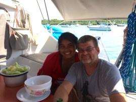Noi & Scott in the Dominican Republic