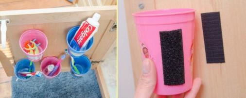 Enkel velcro, men hvilke interessante ideer til hjemmet ... uventet nyttige ting!