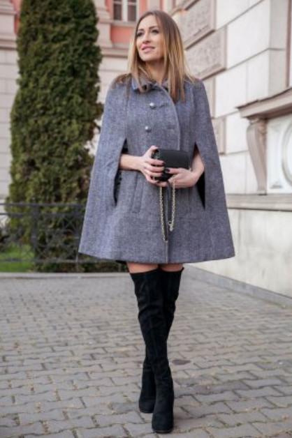 Впечатляющие модели пальто из одного куска ткани. Идеи, советы и мастер класс своими руками