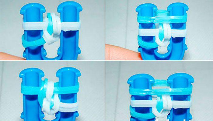 Trottoir bracelet du caoutchouc