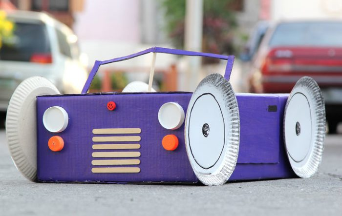 Carton convertible