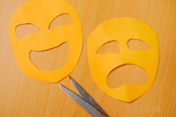 Masque en papier Faites-le vous-même master classe