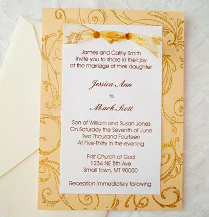 Original Hochzeitseinladungen.