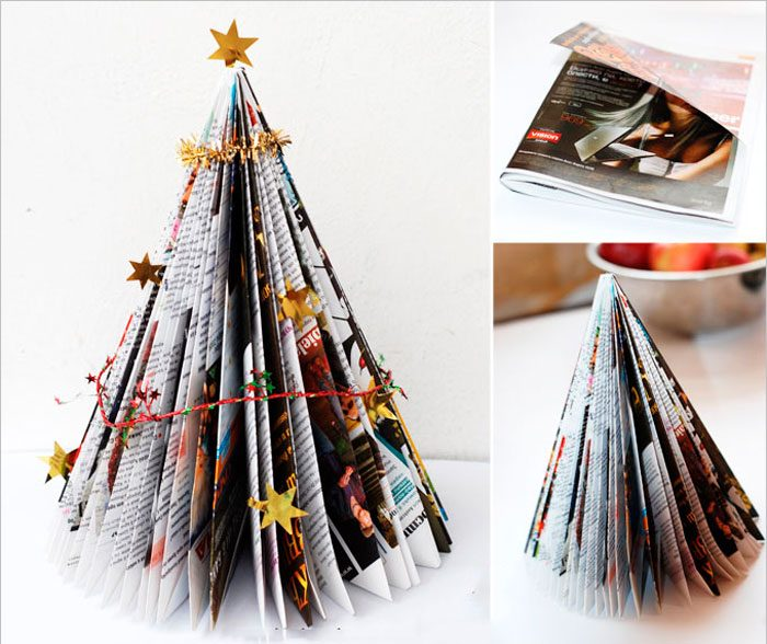 Christmas tree from the magazine
