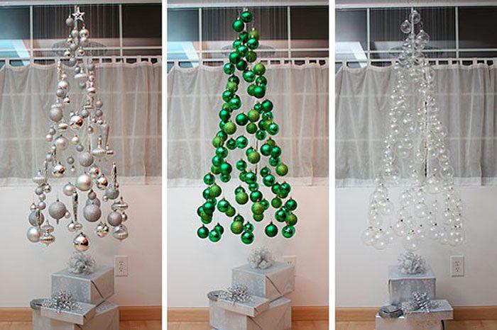 Dalende kerstboom