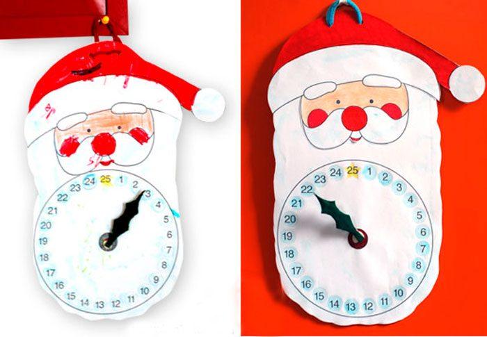 """Vánoční kalendář """"Santa"""""""