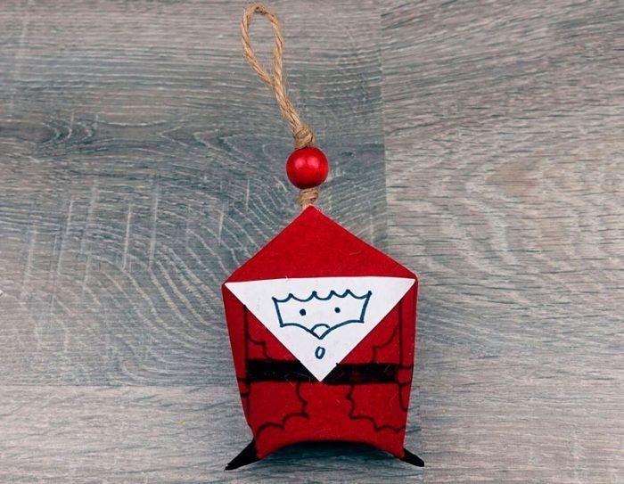 Santa Claus de la manche