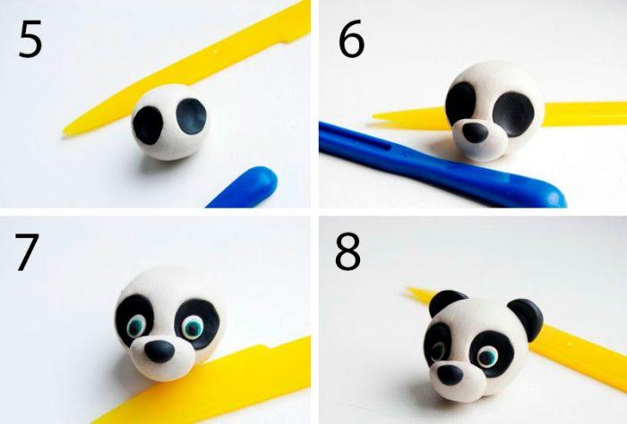 Panda από πλαστελίνη Master Class