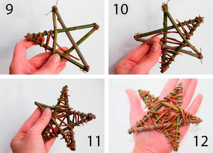 در عکس نشان داده شده - ستاره های فله از کاغذ. آماده سازی تعطیلات در خانه، شکل. ستاره هایی مانند IKEA 2