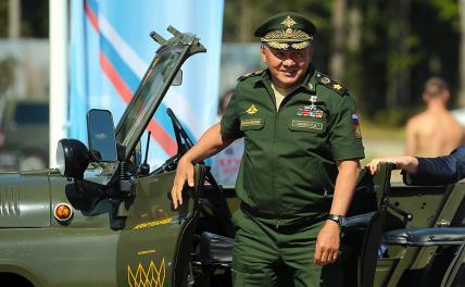 Шойгу 30 лет при погонах: Звание «генерал армии» теперь соответствует выслуге