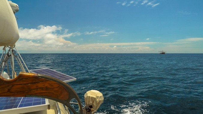 Motoring in the Gulf of Panama