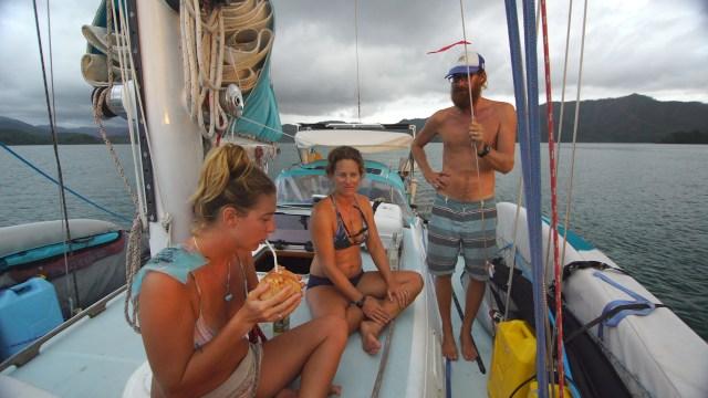 raft-up in Bahia Honda
