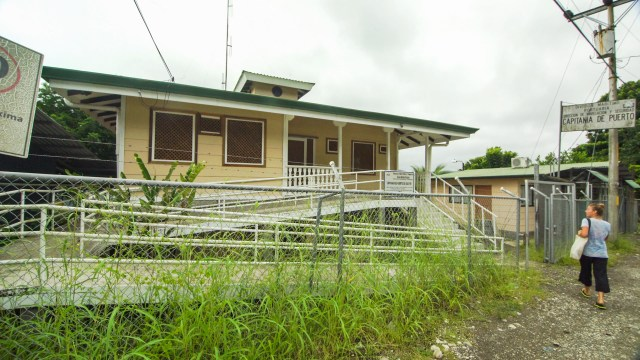 Port Captain Office in Golfito