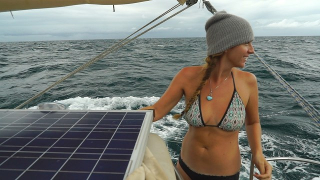 Shannon attire for squall sailing