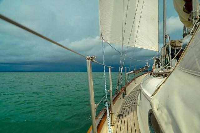 sailing in panama
