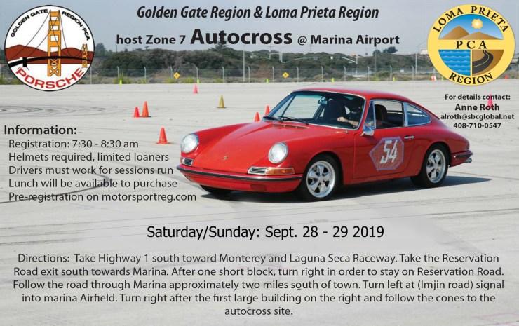 Zone 7 / GGR/LPR Hosted Autocross