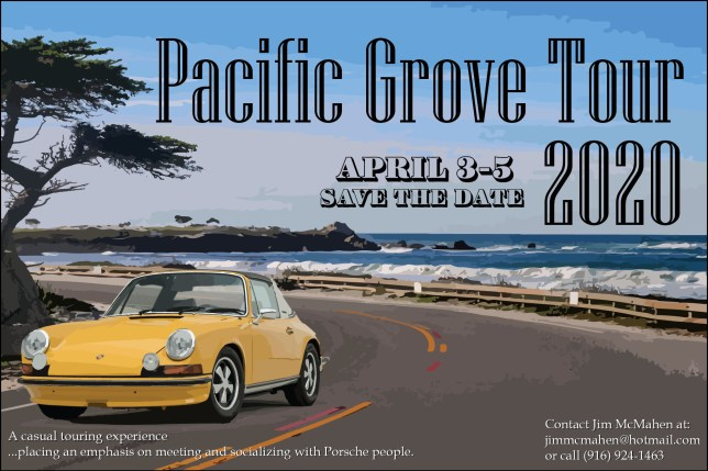 Pacific Grove 2020 Save the Date