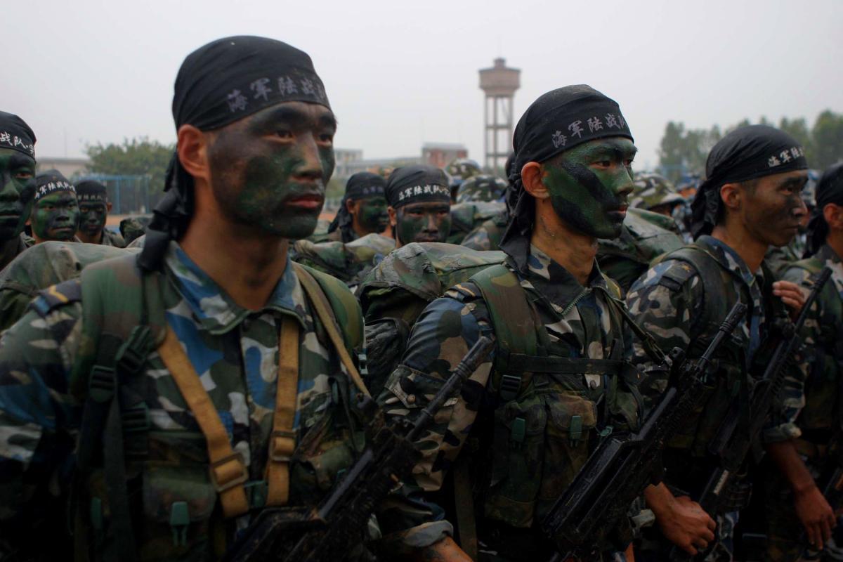 Китайский спецназ, обучение и нормативы