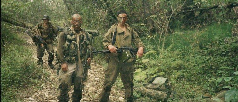 Четыре русских спецназовеца уничтожили 80 чеченских боевиков