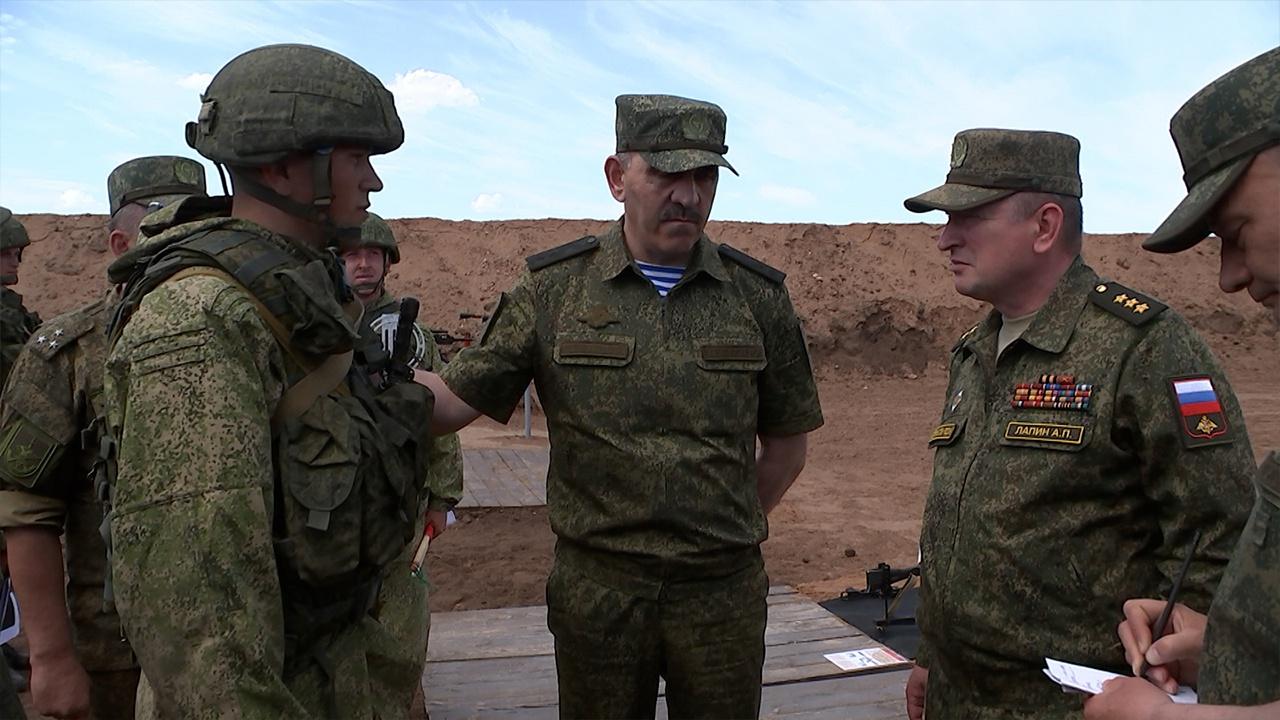 В МО РФ определили лучший военный полигон