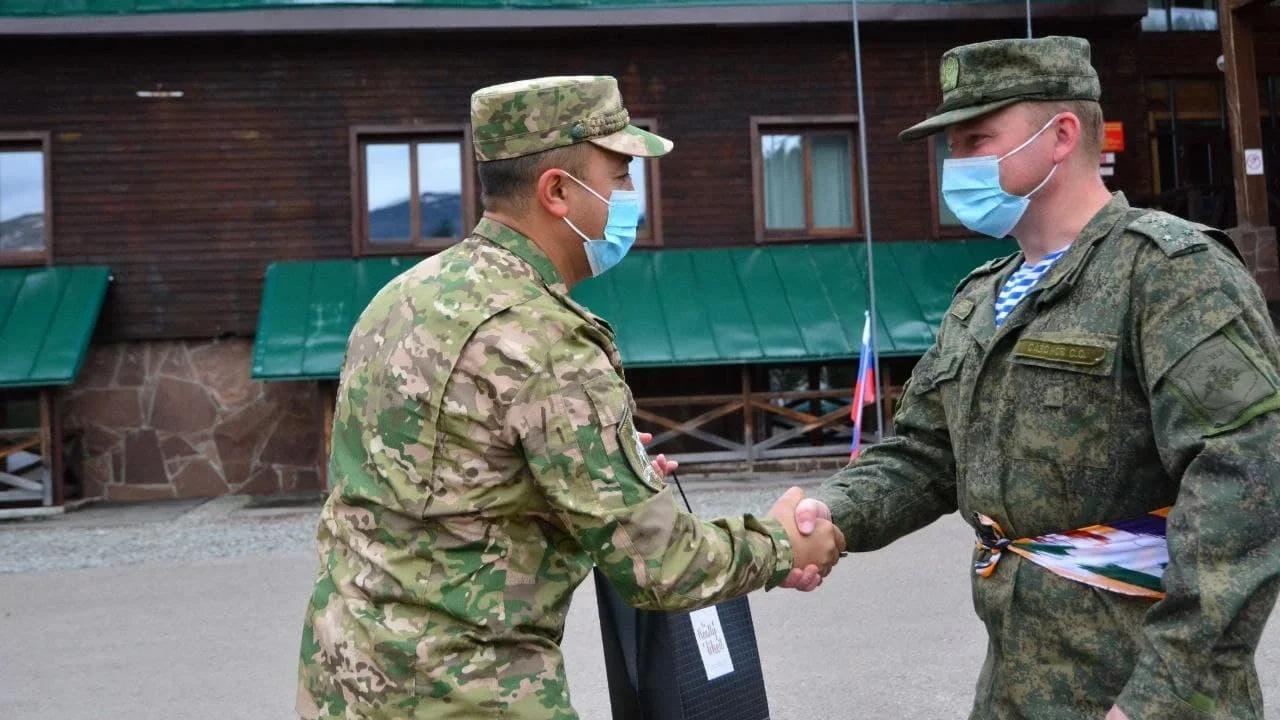 В Красноярском крае завершились совместные учения России и Узбекистана