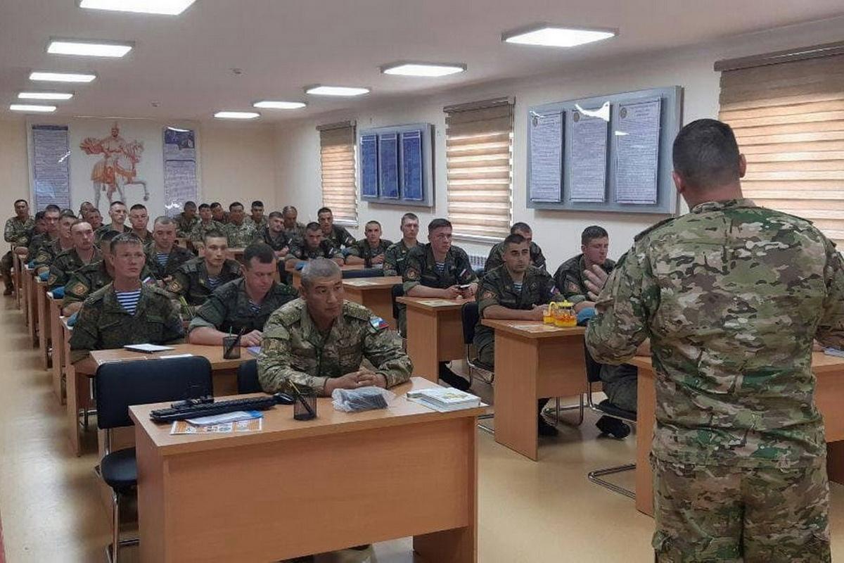 Спецназ ЦВО и вооруженных сил Узбекистана приняли участие в совместном тактико-специальном занятии в горах Западного Тянь-Шаня