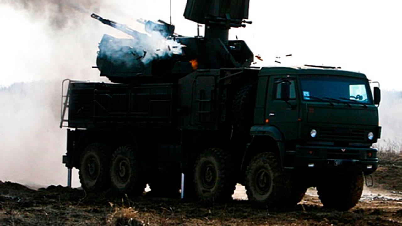 «Панцирь-С» российской авиабазы Хмеймим в Сирии уничтожил БПЛА боевиков