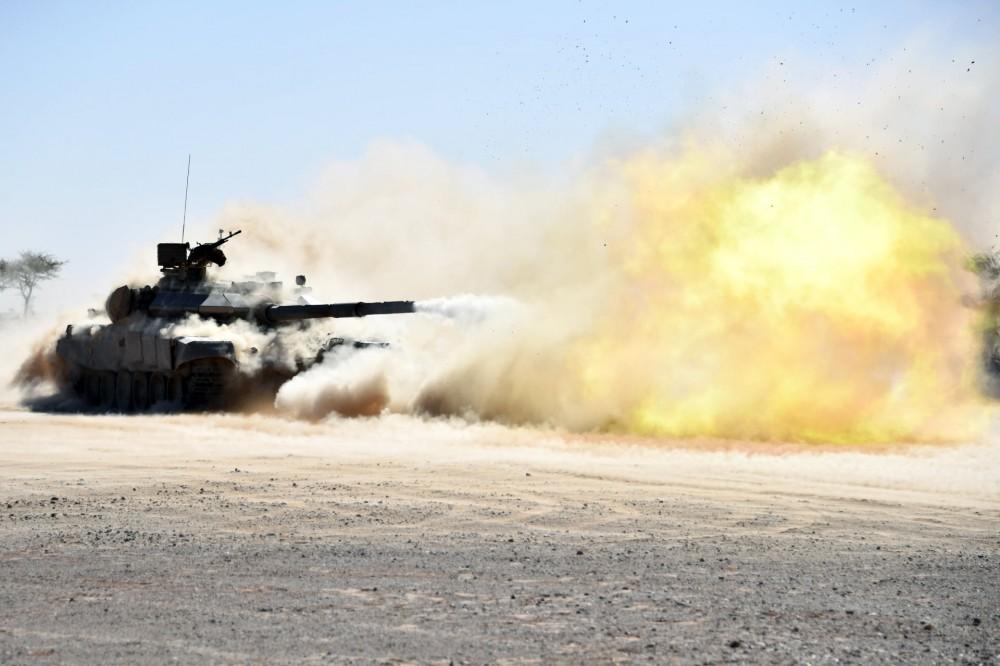 Т-90СА получат немецкую систему управления тактическим звеном в Алжире
