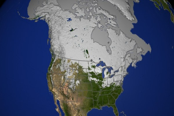 SVS: Daily Snow over North America 2002-2003 with ...