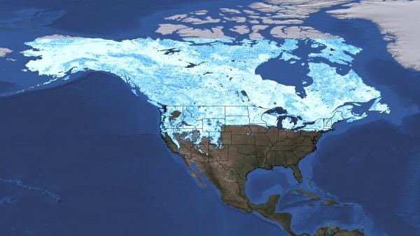 SVS: North America Snow Cover Maps