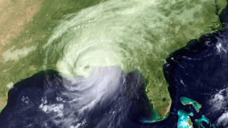 On August 29, 2005, Hurricane Katrina made landfall along the Gulf Coast. Five years later, NASA revisits the storm with a short video that shows Katrina as captured by satellites. Before and during the hurricane's landfall, NASA provided data gathered from a series of Earth observing satellites to help predict Katrina's path and intensity. In its aftermath, NASA satellites also helped identify areas hardest hit.For complete transcript, click here.
