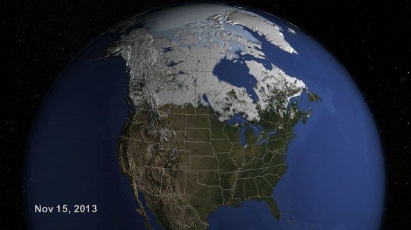 GMS: NASA On Air: U.S. Snow Cover Time Lapse - Winter 2013 ...