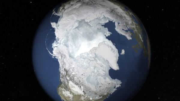 NASA Viz State of Arctic Sea Ice