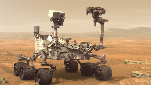 GMS Ancient Organics Discovered on Mars
