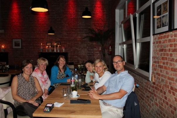 14 juli, 2015. Afscheid van een schitterend AR team ! Gaston te Gent Kristin, Nathalie, Ann, Martine, Ilse en Johan