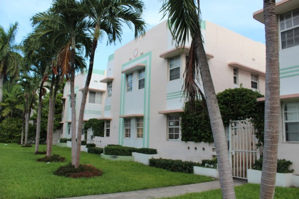 Art Deco Style Housing