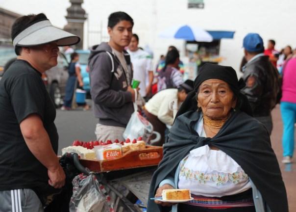 Alles van eten is te koop op straat