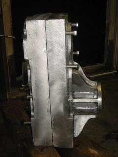 Gearbox Cast using lost foam