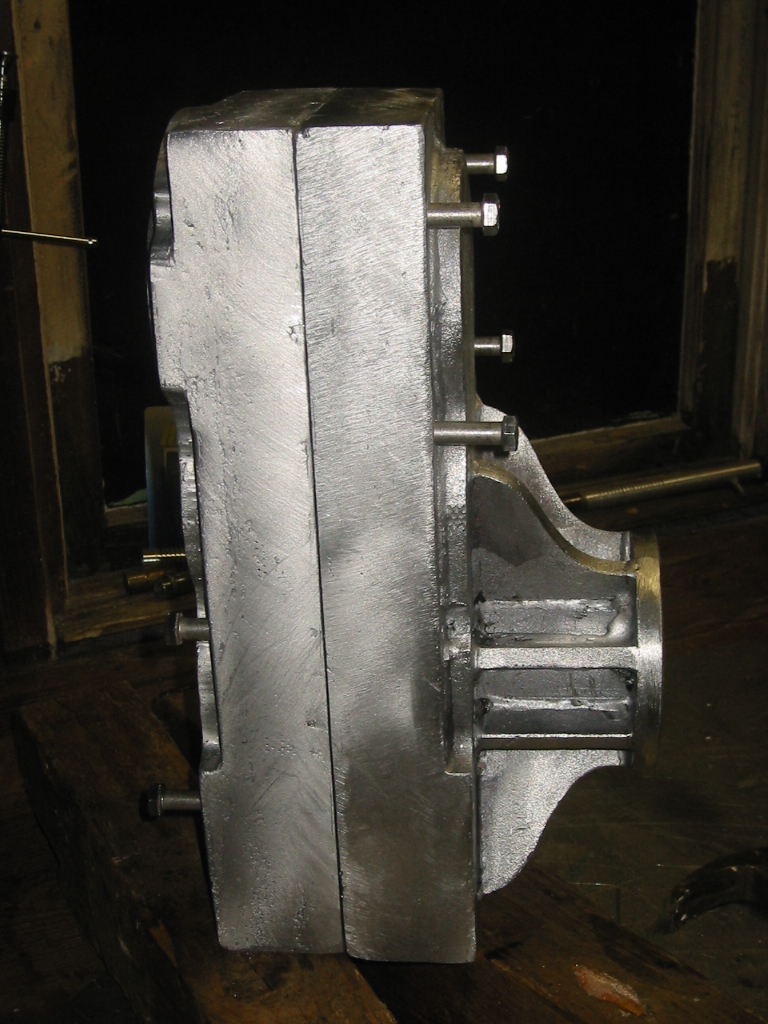 (13) Completed gearbox.