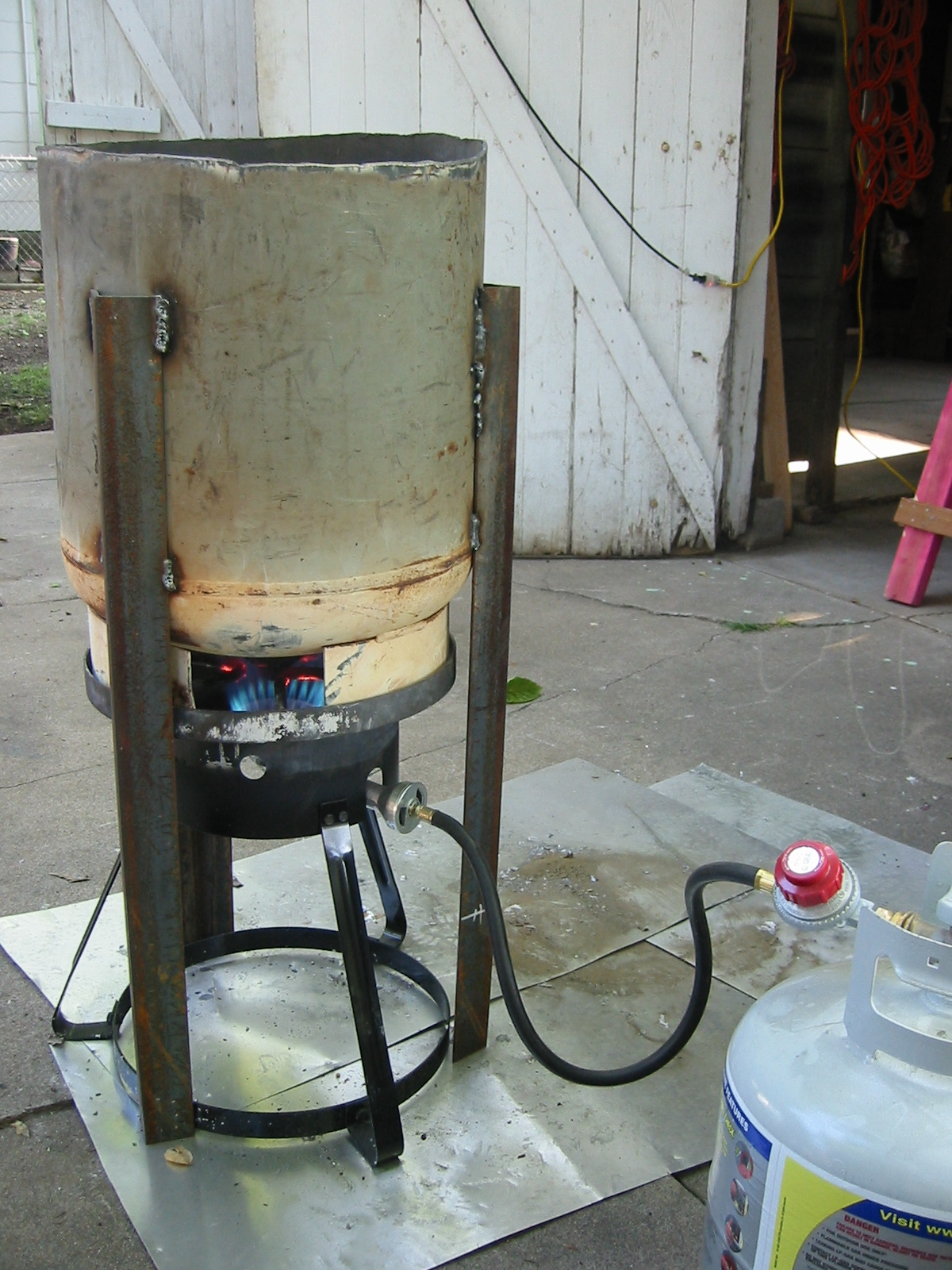 (1) Propane smelter