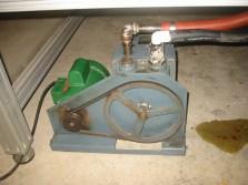 (2) 1 HP, Welch vacuum pump.