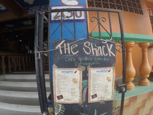 The Shack is a popular cruisers place to meet for drinks....it is also ran by Gabriela's daughter.