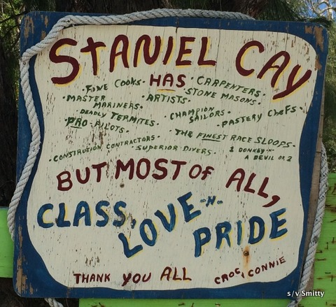 Staniel sign