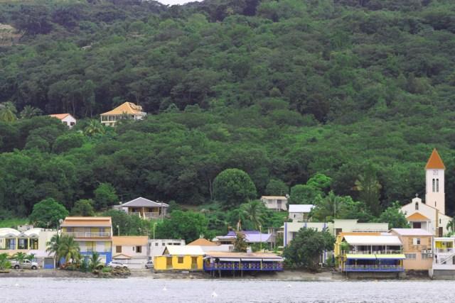 Deshaies waterfront