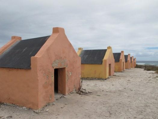 Slave huts, Bonaire