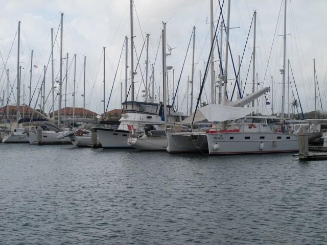 Rehua in Shelter Bay Marina